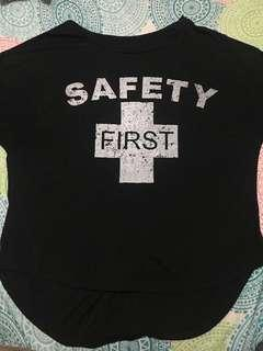 Php 30 Safety First Shirt