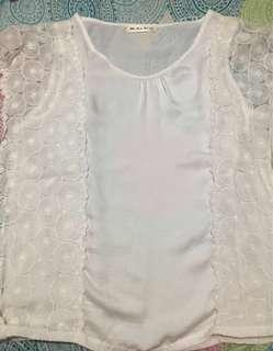 White Blouse from Thailand