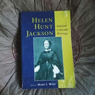 HELEN HUNT JACKSON Selected Colorado Writings