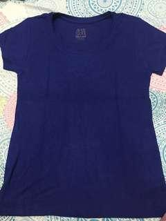 Php 50 Plain Blue Shirt
