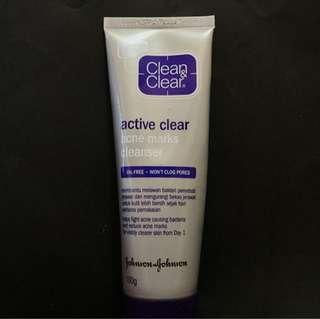 Clear & Clear Active Clear Acne Marks