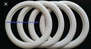 16 inch white wall inserts