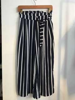 ZARA Striped Pants