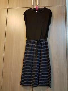 Long Stripe Dress #PRECNY60