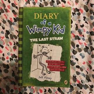 Buku Diary Of A Wimpy Kid