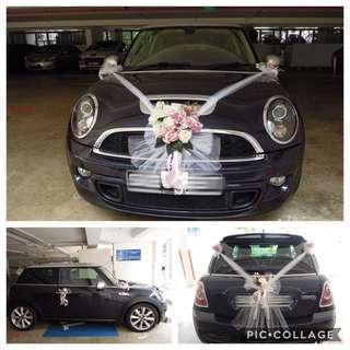 🚚 Wedding Car Decor / Bridal Car Decor