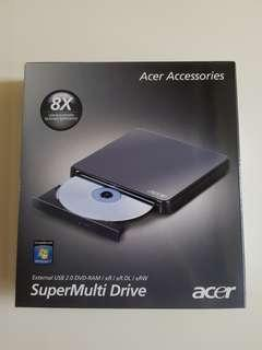 Portable CD drive from Acer