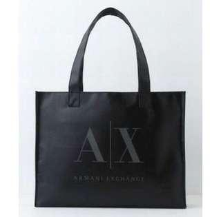 Armani Exchange Recycle Shopping Tote