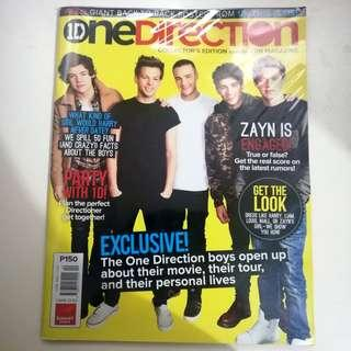 One Direction Collector's Edition Candy Fan Magazine
