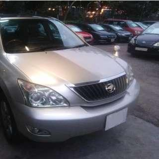 TOYOTA HARRIER 2.4 2007