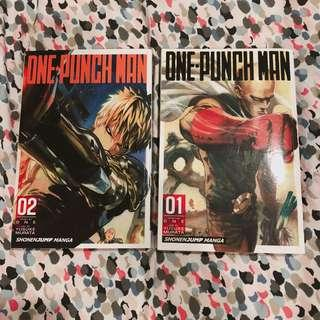 One Punch Man #1&2