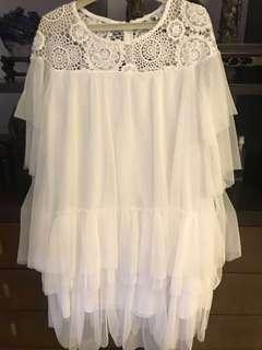 Lacey and frilly Blouse