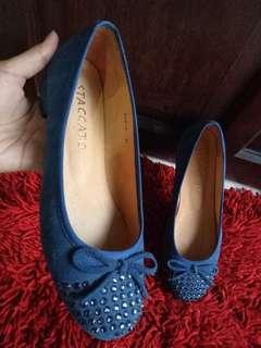 Sepatu Staccato Navy Original