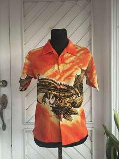 BRANDNEW | Imported Dragon (Orange) Polo