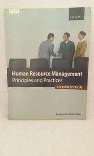 Human Resource Management Principle and Practices 2nd Edition