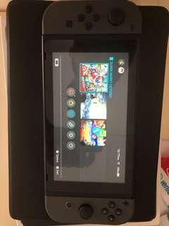 Nitendo Switch + Zelda + Mario