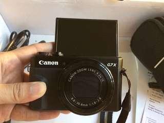 Canon Powershot G7x Mark II fullset mulus LIKE NEW!!