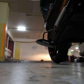 Yamaha Xmax 300 Big Foot installed