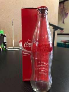 NDP 40th anniversary Coca-Cola bottle