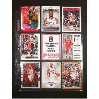 Chris Paul 8 Different Basketball Card All-Star Player