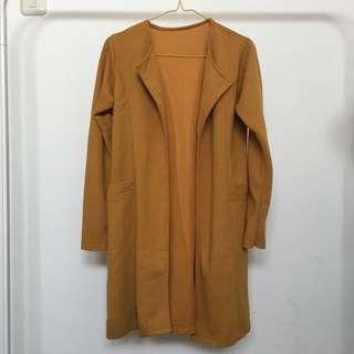Mustard outerwear