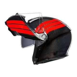 AGV Sportmodular carbon Stripes