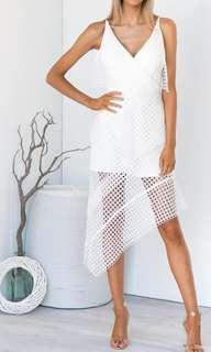 White dress, new with tags