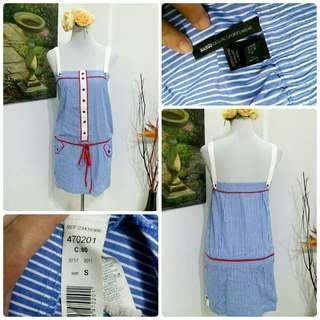 Mango drawstring dress