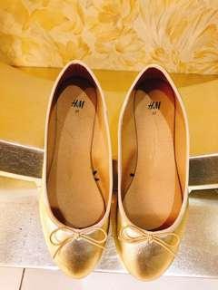 H&M平底鞋(只穿一次)