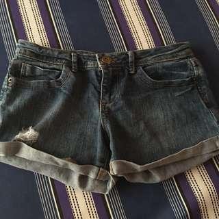 21 denim shorts