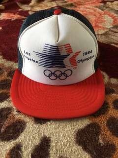 vtg trucker olympic 1984