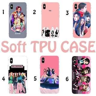 [PO] blackpink cutee tpu soft phonr case