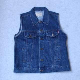 FAST JUMP Vest Jeans Size L