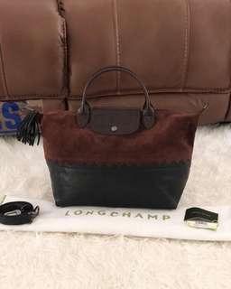 NEW!  Longchamp Le Pliage Medium Cody Canada Limited Edition Bag