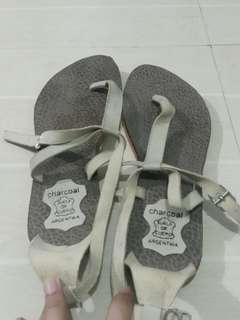 Charcoal Sandals