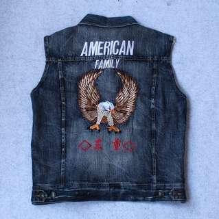 AMERICAN Vest Jeans Size XL