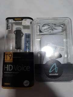 Remax Bluetooth Headset (free powerbank 4800mah)