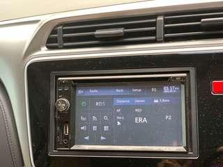 Car player audio led screen pioneer