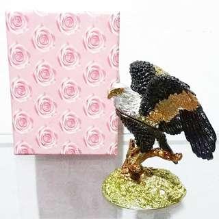 Pajangan Miniatur Burung Elang Jewelry Premium