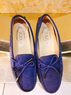 TOD'S平底女鞋(SIZE:36.5,只穿一次)
