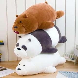 {BN} Ready Stocks! We bare bears stuffed toys
