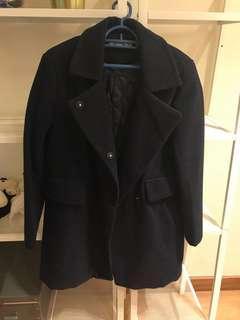 Navy Blue Winter Coat