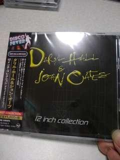 Japan CD, Daryl Hall & John Oates, 12inch collection