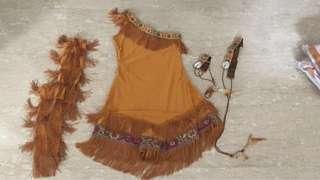 Pocahontas / Native American / Red Indian costume * jungle / desert theme