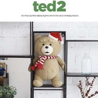 韓國代購🇰🇷聖誕版TED公仔 毛公仔🧸