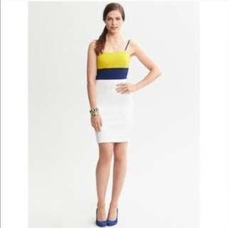 Color block dress - Banana Republic