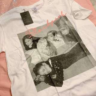 Official Blackpink Tshirt Type 2 White