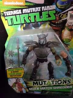 Merry Christmas! Sales! Teenage Mutant Ninja Turtles Mutations Mix and Match Shredder