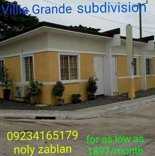 Rent to own Villia Grande Subdivision