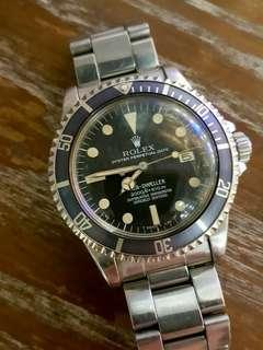ROLEX 1665 RAIL ( 通渠 0打磨 灰片) SEA-DWELLER WATCH